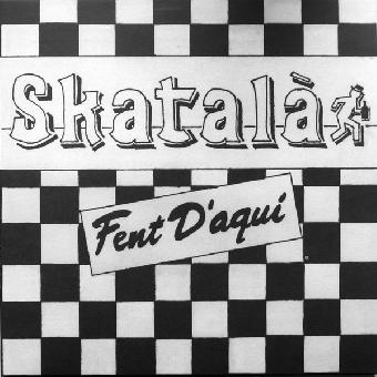 """Skatala """"Fent D`aqui"""" LP (lim. 600, black) + A4 Booklet"""