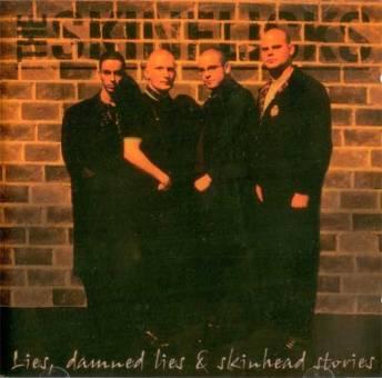 """Skinflicks """"Lies damned Lies & Skinheadstories"""" CD"""