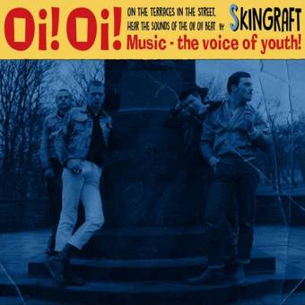 "Skingraft ""Oi! Oi! Music"" EP 7"" (lim. 200, red)"