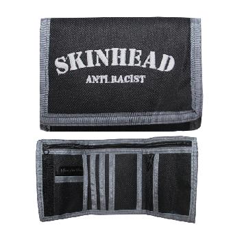 "Geldbörse / Wallet ""Skinhead Anti Racist"" (schwarz/grau)"