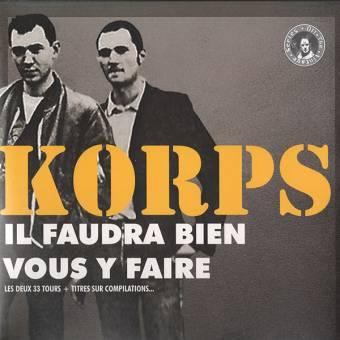 "Skinkorps ""Il Faudra Bien Vous Y Faire"" DoCD (Digibook)"