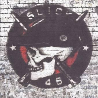 "Slick 46 ""No Apologies"" EP 7"" (lim. 80, red-black splatter)"