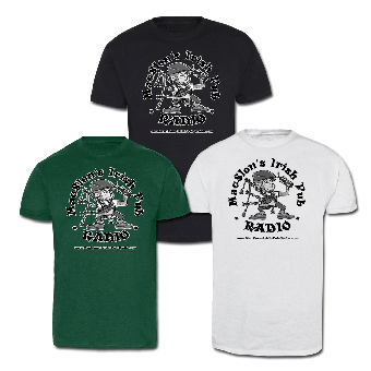 "MacSlon`s Irish Pub Radio ""Logo"" T-Shirt"