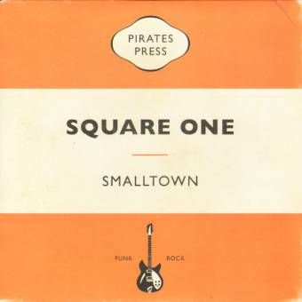 "Smalltown ""Square one"" EP 7"" (lim. 200, black-white + download)"