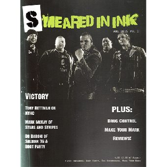 Smeared In Ink #1 (US) Fanzine (engl.) + Flexi (lim. 150 white)