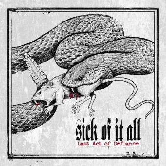 """Sick of it all """"Last act of defiance"""" CD"""