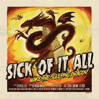 "Sick Of It All ""Wake The Sleeping Dragon!"" LP (black) + CD"