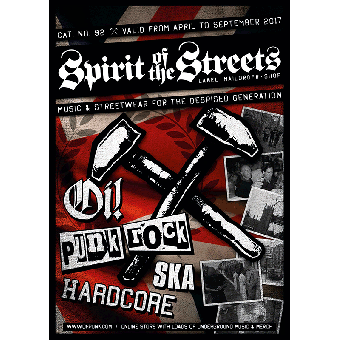 Spirit of the Streets Mailorder Katalog #92 April 2017 - September 2017