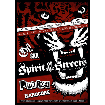 Spirit of the Streets Mailorder Katalog #92