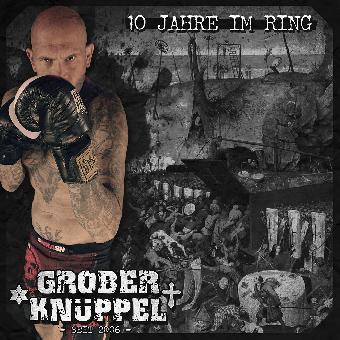 "split +Grober Knüppel+ / Messerstecher Herzensbrecher ""10 Jahre im Ring"" 7"""