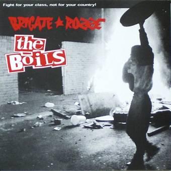 "split The Boils / Brigate Rozze ""Fight For Your Class"" EP 7"""