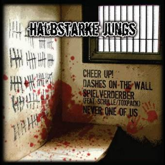 "split Halbstarke Jungs / Warriors ""same"" LP"