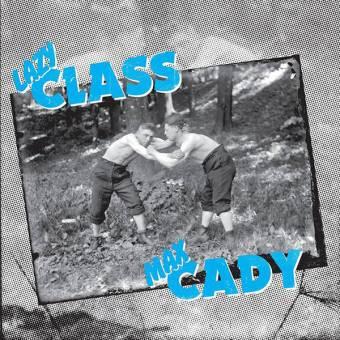 "split Lazy Class / Max Cady ""same"" LP (lim. 200, black)"