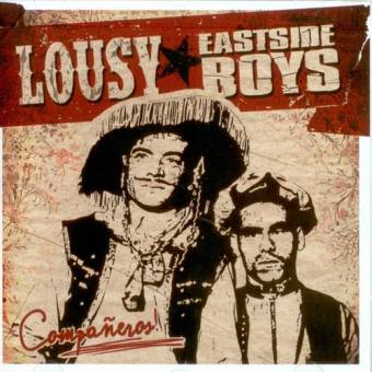 "split Lousy / Eastside Boys ""Companeros!"" CD"