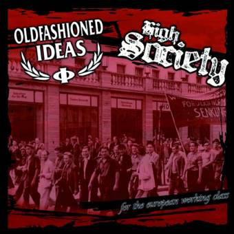 """split Oldfashioned Ideas / High Society """"for the ..."""" EP 7"""" (lim.100, red)"""
