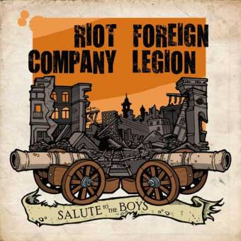 "split Riot Company / Foreign legion ""Salute to the Boys"" EP 7"" (lim. 300)"