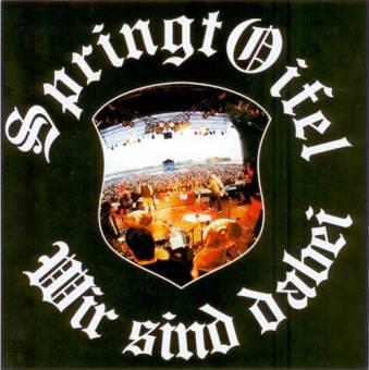 "split Springtoifel / The Gonads - same EP 7"" (sawblade)"