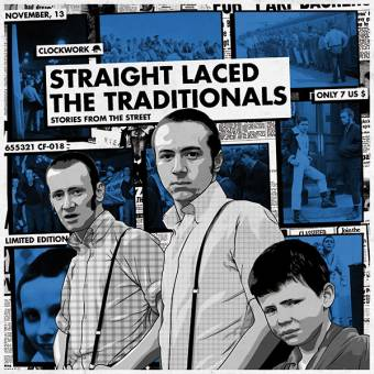 "split Straight Laced / The Traditionals ""Stories..."" 7"" EP (lim. 100, white)"