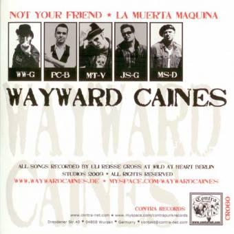 "split Wayward Caines / The Strangers ""same"" EP 7"" (lim. 500)"