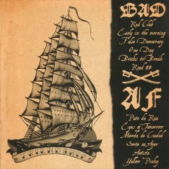 """split Blind Alley Dogs / Albert Fish """"Friendship"""" CD"""