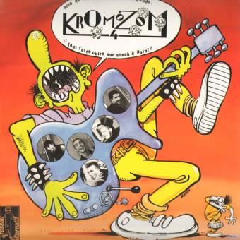 "split Heimat-los (Heimatlos) / Kromozom 4 ""same"" LP"