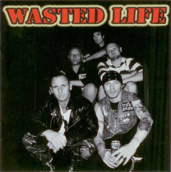 split Wasted Life / Ratmonkey - same CD