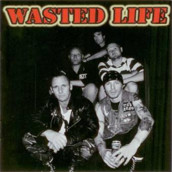 split Wasted Life / Ratmonkey - same CD