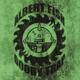 "split Albert Fish / Booby Trap ""same"" EP 7"" (lim. 100, green cover)"