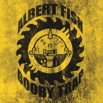 "split Albert Fish / Booby Trap ""same"" EP 7"" (lim. 100, yellow cover)"