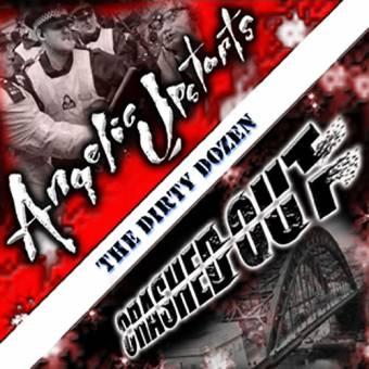 "AUSVERKAUFT split Angelic Upstarts / Crashed Out ""The dirty dozen"" CD"