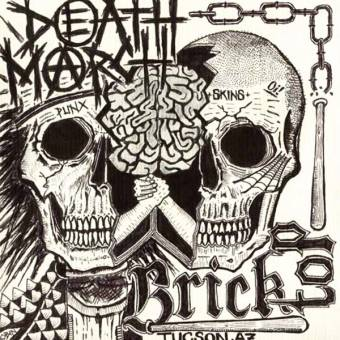"split Bricktop / Death March ""Punx + Skins"" EP 7"""