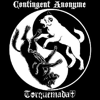 "split Contingent Anonyme / Torquemada ""same"" EP 7"" (black)"