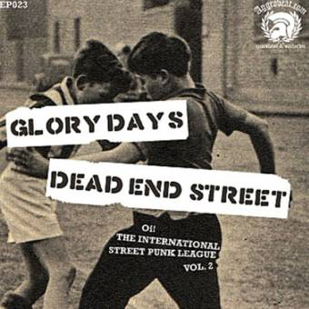 "split Glory Days / Dead End Street  ""Oi!  ... Vol. 2"" EP 7"" (lim. 300, black)"