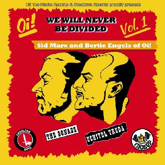 """split Gonads, The / Uchitel Truda """"We Will Never... Vol.1"""" 7""""EP (lim. 300, black"""