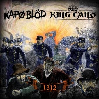 "split King Cans / Kapo Blöd ""1312"" EP 7"" (lim. 400, black)"
