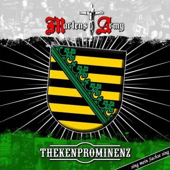 "split Martens Army / Thekenprominenz ""Sing mein Sachse sing"" LP"