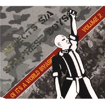 "split Rejects SA / Sta-Prest Boys ""Oi! it`s a world invasion 2"" CD (DigiPac)"