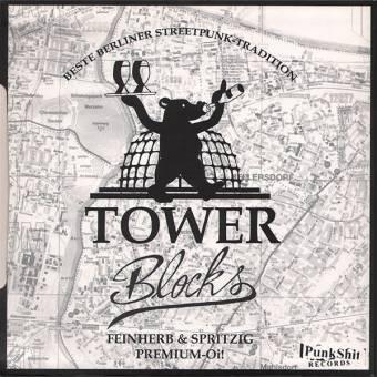 "split Towerblocks /  Runnin Riot ""same"" EP 7"""