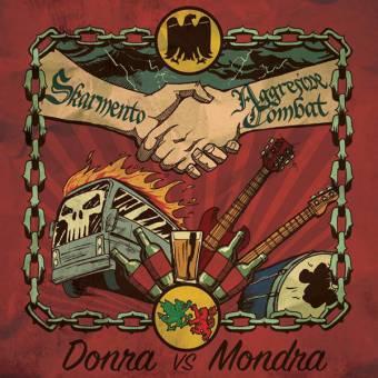 "split Aggressive Combat / Skarmento ""Donra vs. Mondra"" EP 7"""