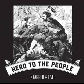 "Stagger & Fall ""Hero to the people"" EP 7"" (lim. 375, black)"