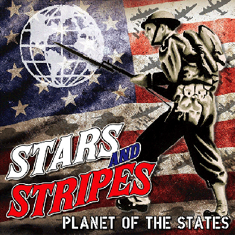 "Stars And Stripes ""Planet of the states"" LP (lim. 48, red/black + special Cover)"