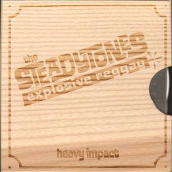 "Steadytones,The ""Heavy Impact"" CD (Holzschuber / woodcase)"
