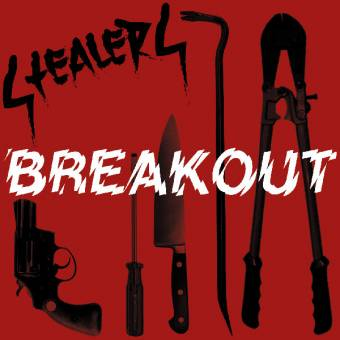 "Stealers ""Breakout"" EP 7"" (lim. 100, red/white)"