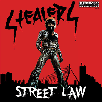 "Stealers ""Street law"" LP (lim 300, black, gatefold)"