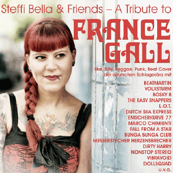"Steffi Bella & friends ""A Tribute to France Gall"" DoLP (lim. magenta)"