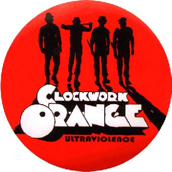 Clockwork Orange Gang (rot) Aufkleber / sticker 019
