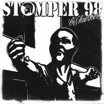 """Stomper 98 """"Bis hier her"""" PicEP 7"""" (cover black, lim. 100)"""