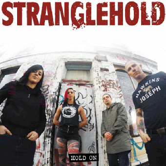 "Stranglehold ""Hold on"" EP 7"" (lim. 200, red)"