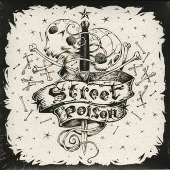 "Street Poison ""City of the dead"" EP 7"" (incl. DL-Code, lim. 400)"