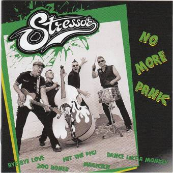 "Stressor ""No more panic"" LP"